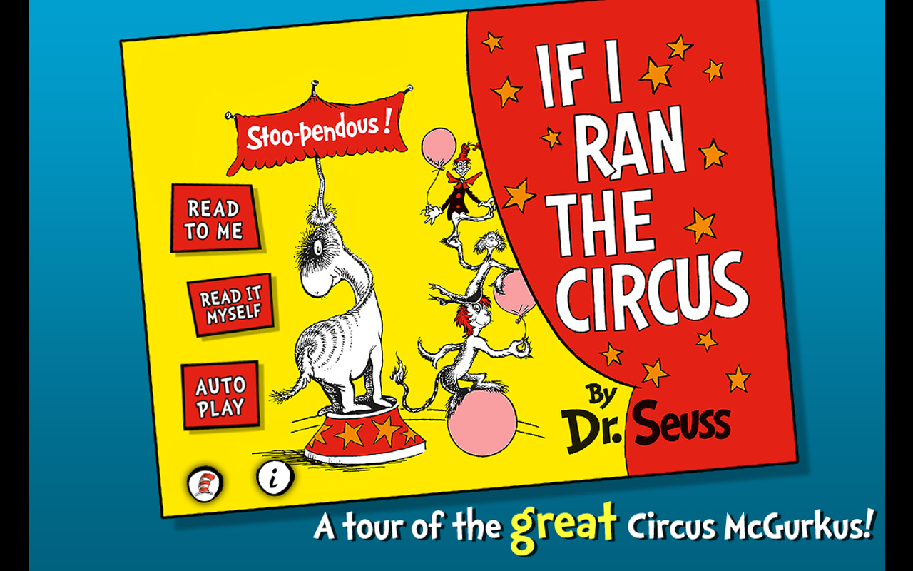 If I Ran the Circus -Dr. Seuss - screenshot