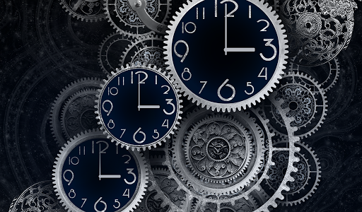 玩個人化App|Black Clock Live Wallpaper HD免費|APP試玩
