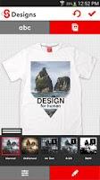 Screenshot of T-shirt design - Snaptee