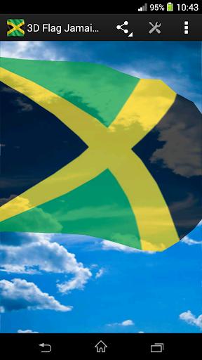 3D Flag Jamaica LWP
