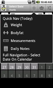 Body & Weight Monitor - screenshot thumbnail