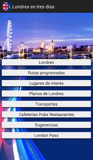 Londres visitar en tres días