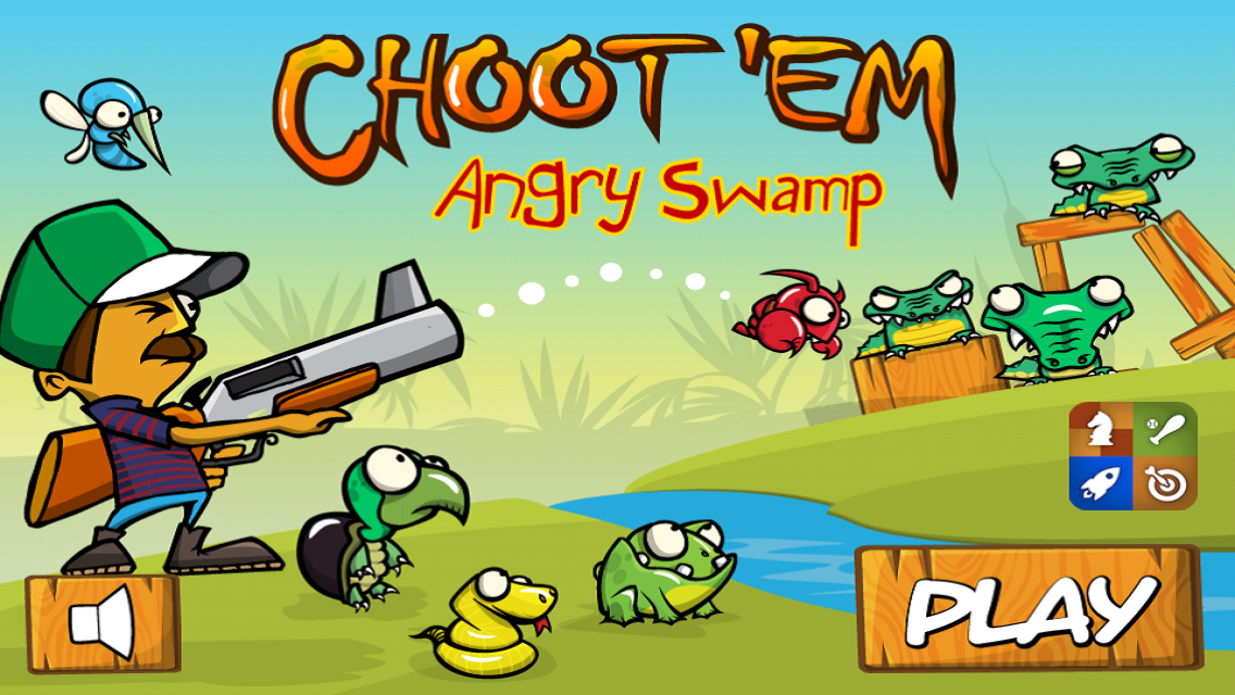 Angry Swamp ChootEm- screenshot