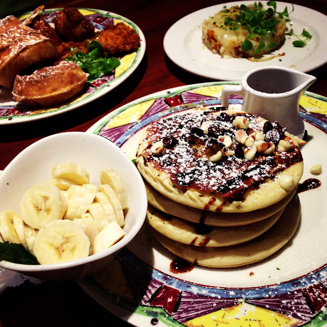 Amazing GF pancakes with multiple flavors!
