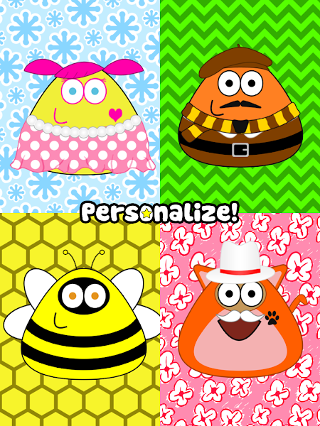 Pou Apk Mod v1.4.20 (Unlimited Money) - screenshot
