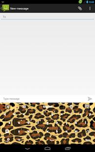野性的豹纹键盘