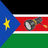 Lantern flash South Sudan