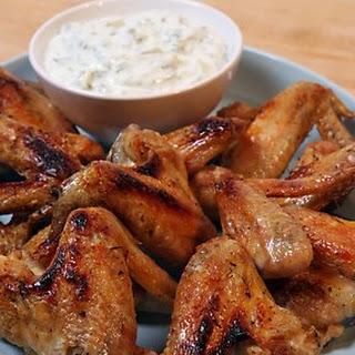 Saffron Chicken Wings.