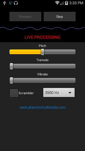Phantom I O Audio Scrambler