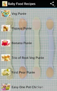 Baby food recipes android apps on google play baby food recipes screenshot thumbnail forumfinder Gallery