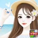 헷지 여름 안에서 카카오톡 테마 icon