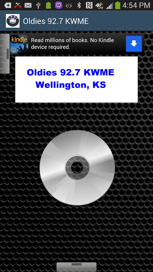 Oldies 92.7 KWME - screenshot