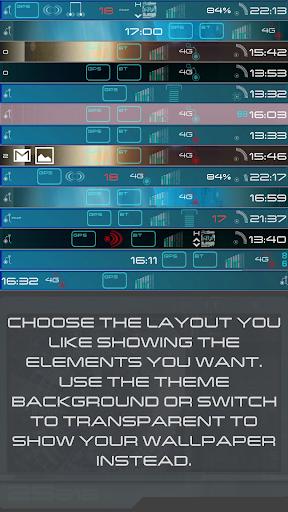 New Trek Status Bar