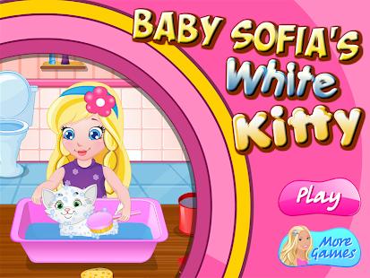 Baby Sofia White Kitty - náhled