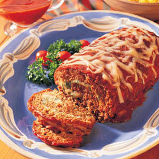 Cheese-stuffed Meatloaf.