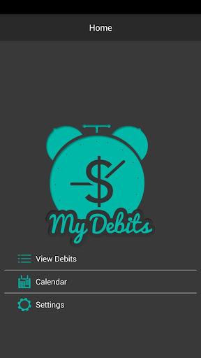 My Debits Reminder App Free