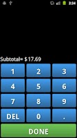 Screenshot of Tip Calc Plus - Tip Calculator