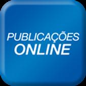 Publicações Online smartphone