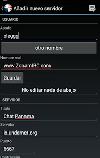 Chat Panama- screenshot thumbnail
