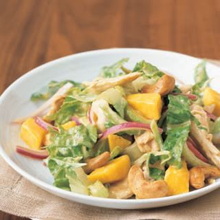 Chicken and Mango Salad with Chutney Vinaigrette.