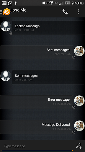 Evolve SMS Theme - Phantom
