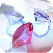 3D Colorful Lucky Diamond Gem