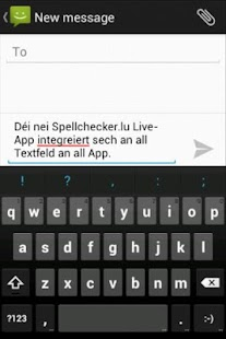 Spellchecker.lu Live- screenshot thumbnail