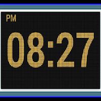 LED Digital Table Clock 5.0