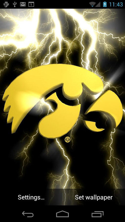 Iowa Hawkeyes Live WPs- screenshot