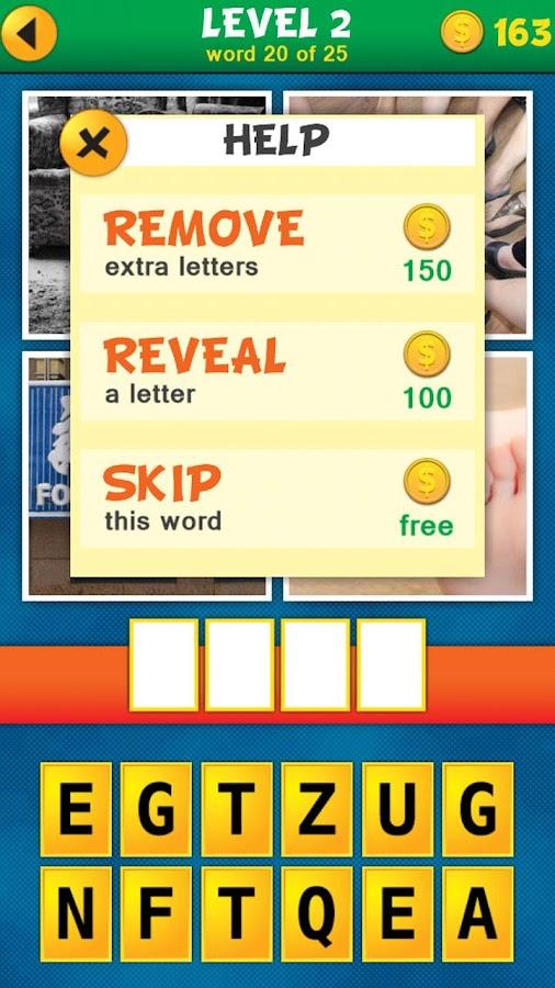 4 Pics 1 Word Puzzle - screenshot