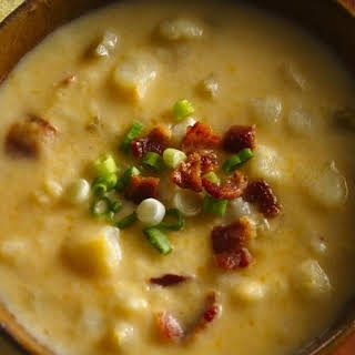 Slow-Cooker Cheesy Potato Soup.