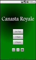 Screenshot of Canasta Royale Free
