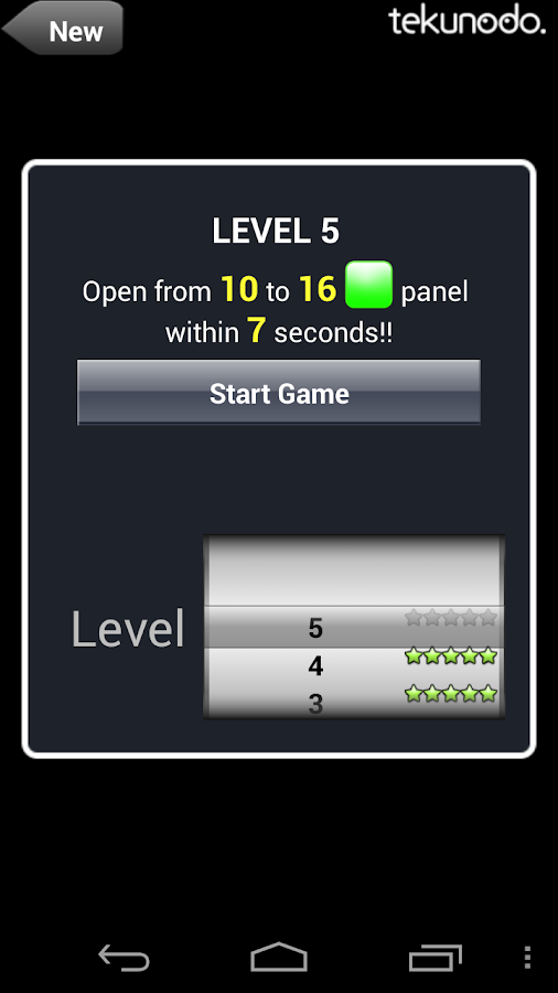 Touch the Numbers for Android - screenshot