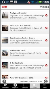 ENR Mobile News - screenshot thumbnail