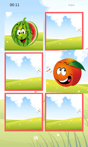 Fruits Memory Puzzle