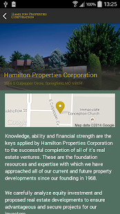 Hamilton Properties Corp.- screenshot thumbnail