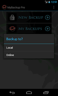 My Backup Root - screenshot thumbnail
