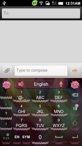 無料个人化AppのGO Keyboard Carnation theme|HotApp4Game