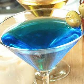 Blue Sky Martini.