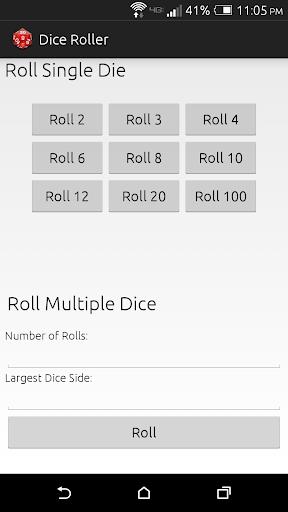 Roll'em A TTRPG Dice Roller.