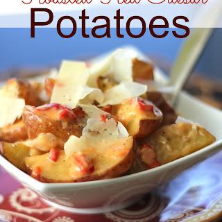 Roasted Red Caesar Potatoes