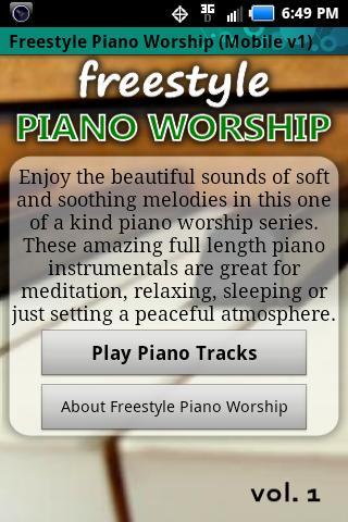 Freestyle Piano Worship
