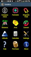 Screenshot of Geodesy Earth Tools