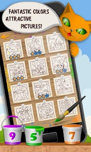 Kids Coloring and Math- screenshot thumbnail