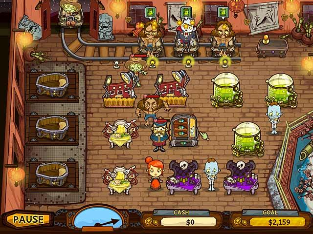 Grave Mania: Zombie Fever - screenshot