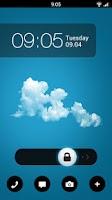 Screenshot of GO Locker Minimal Circles