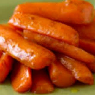 Cinnamon-Glazed Baby Carrots.