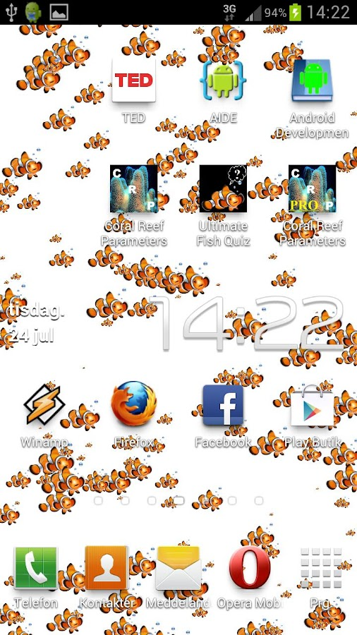 A Lot Of Nemo´s LWP Free- screenshot