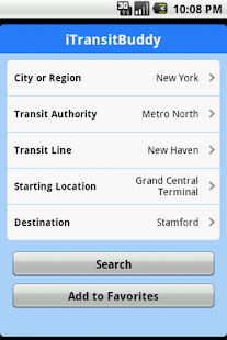 iTransitBuddy Metro North Lite - screenshot thumbnail