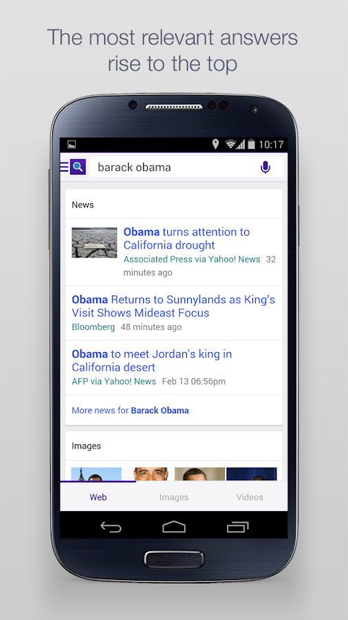 Yahoo Search- screenshot